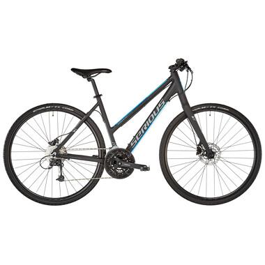 Bicicletta Ibrida SERIOUS SONORAN HYBRID Donna Nero 2019